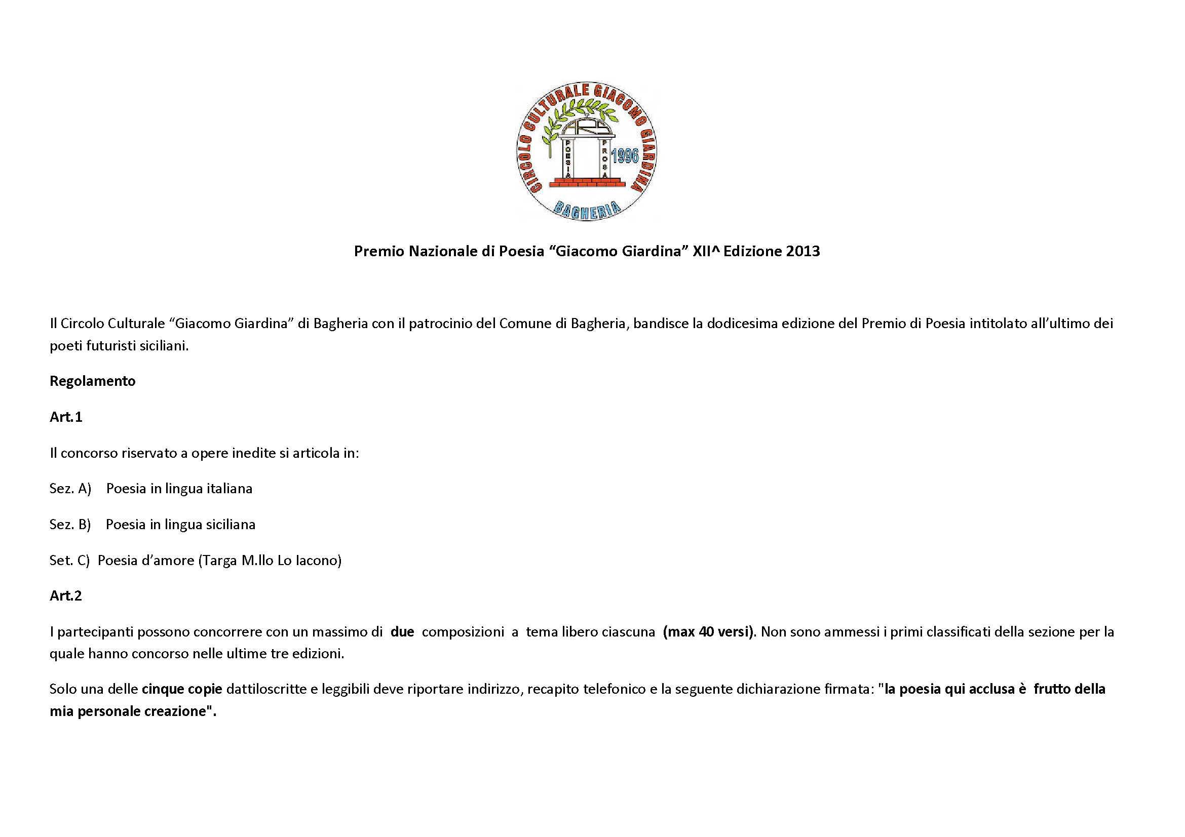 Premio G. Giardina 2013_1